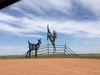 DeerSculpture