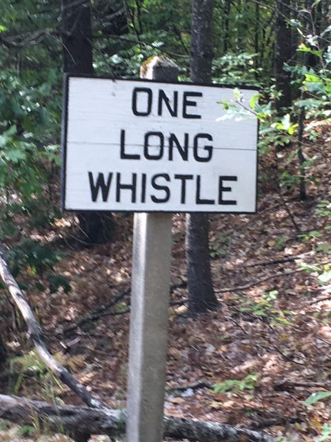 OneLongWhistleSign