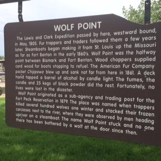 WolfPointSign