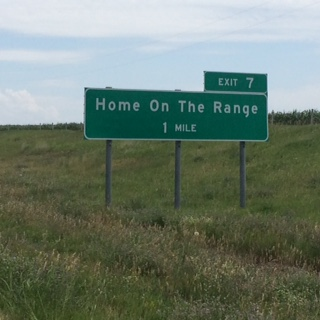 HomeOnRangeSign